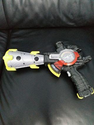 幪面超人 build  DX  武器  聲光正常 9成新