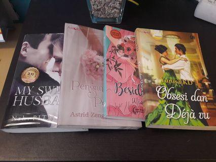 Paket Novel (4 novel)
