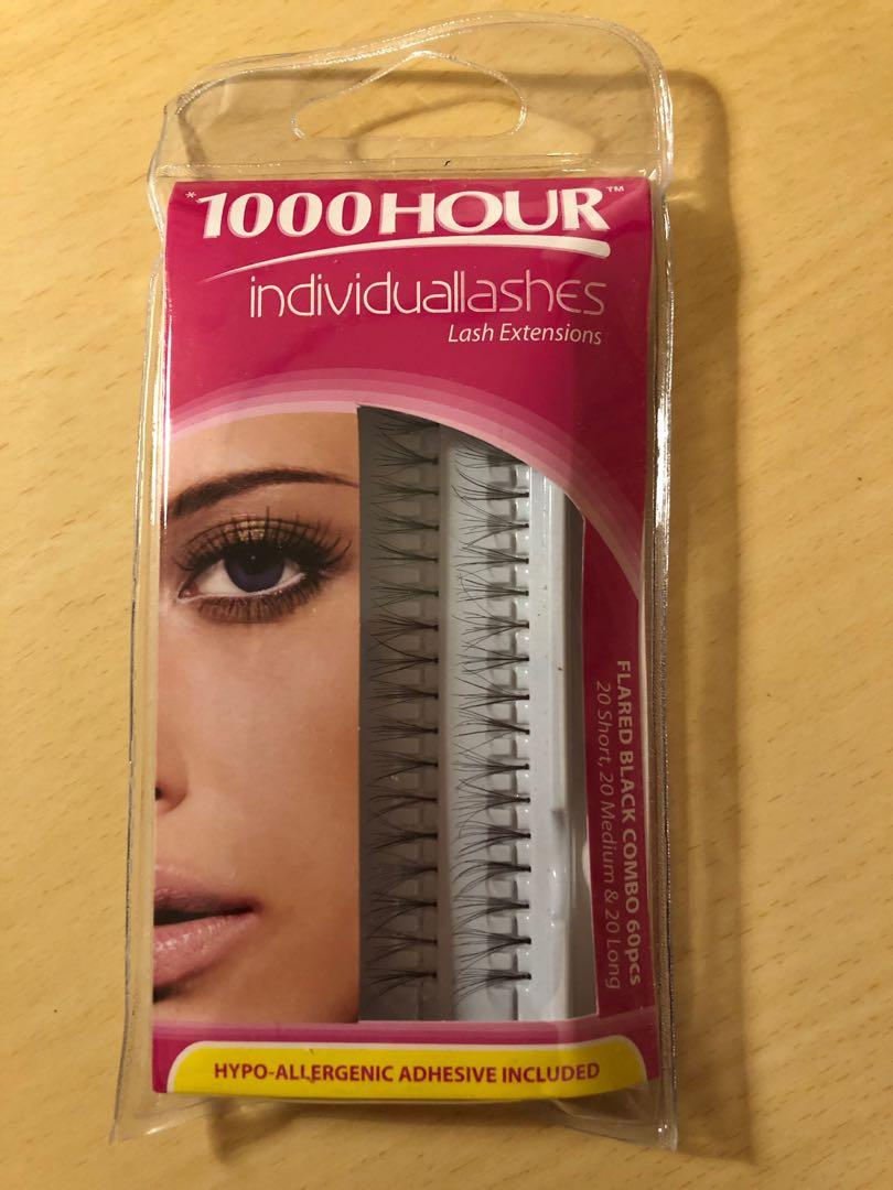 1000 Care Individual Lash Extensions (with adhesive)
