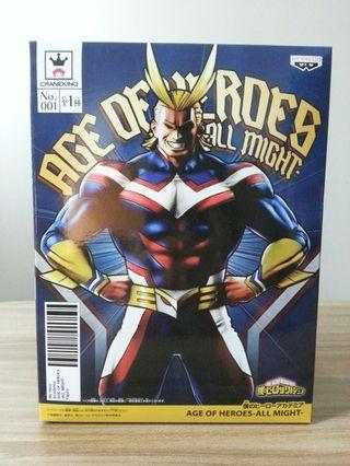 日版全新 我的英雄學院 Age of Heroes 歐爾麥特 My Hero Academia All Might
