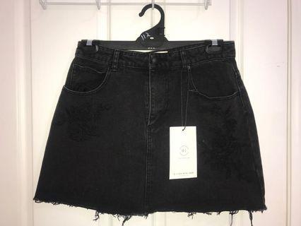 COTTON ON-  mini a-line denim skirt