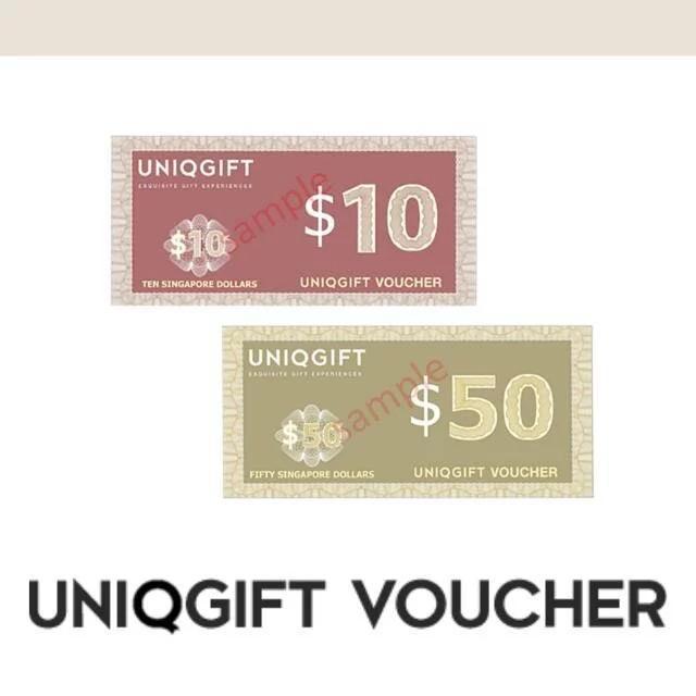 $100 Uniqgift vouchers