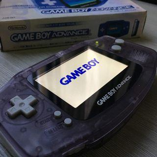 GBA AGS-101 - Bright Screen Modded