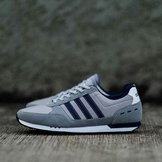 Adidas Neo City Racer Grey Navy