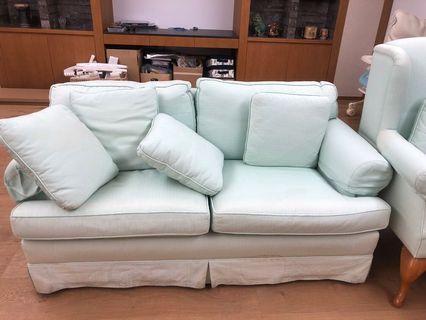 Fabric sofa 🛋 two seater 💺 雙人座位布藝梳化