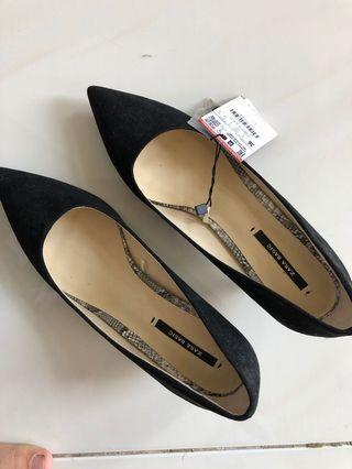 Zara Heels Black 36