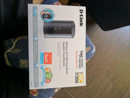 🚚 D-LINK WIFI router
