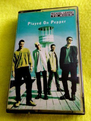 Michael learns to rock ~ played on pepper. Cassette tape not vinyl