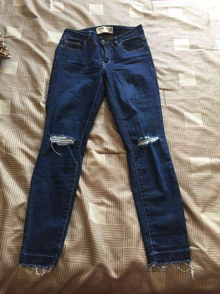 Garage high waisted jeans