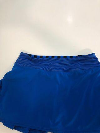Lululemon size 4Blue Skirt