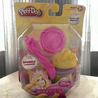 Playdoh Disney Create with Rapunzel - Sparkle Compound - New