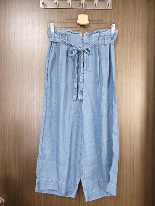 Almost New Seed Denim Culottes