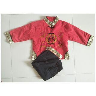 Children Kids Boy Girl Chinese New Year CNY Racial Cultural Day Clothing Set