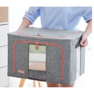 Bundle of 2 XL Size Dust Free Bamboo Charcoal Storage Box