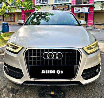 Audi Q3 sambung bayar