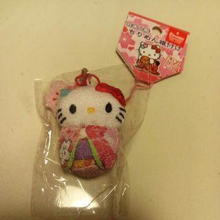 Hello Kitty日本限定和服櫻花吊飾