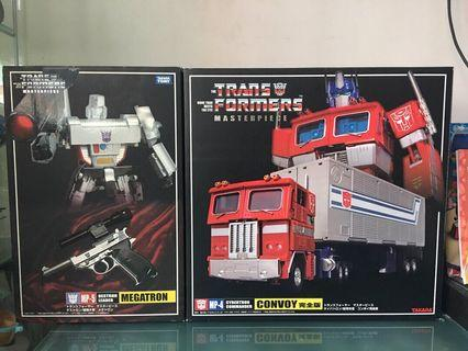 Transformers Masterpiece MP04 and MP05