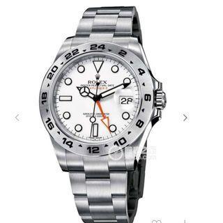 Rolex 216570 大白橙