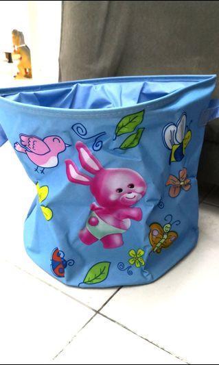 Baby laundry basket