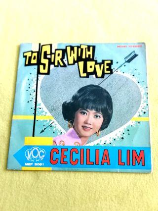 Cecilia Lim ~ to sir with love. Ep. Vinyl record