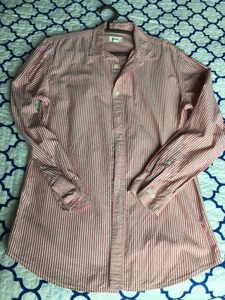Men Seed Shirt (Red stripes)