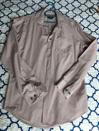 Men Padini Shirt (Blue/Red stripes)