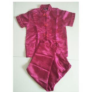 Children Kids Chinese New Year CNY Clothing Set