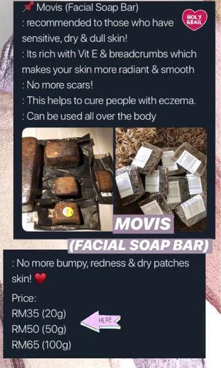 Movis Facial Soap Bar