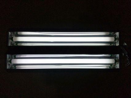 2 Feet Aqua Zonic Aquarium Lights Max Bright T8