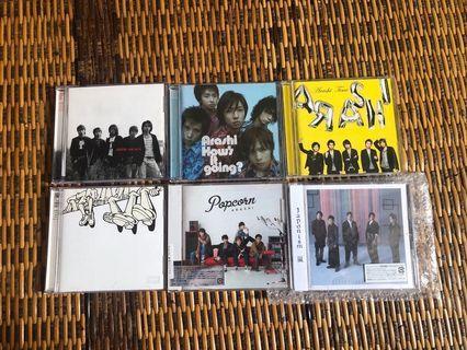 WTS - Arashi albums
