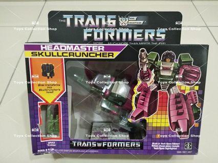 Transformer G1 Headmaster Skullcruncher