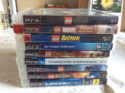 🚚 LEGO themed PS3 games bundle