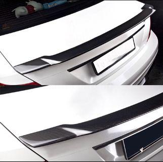 Mercedes C-Class W204 Rear Carbon Fiber Spoiler