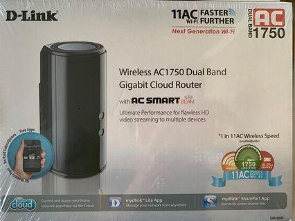 🚚 D-Link AC1750 Dual Band Gigabit Cloud Router