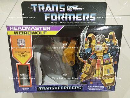 Transformer G1 Headmaster Weirdwolf