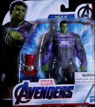 全新 Avengers Endgame Hulk figure with Nano gauntlet