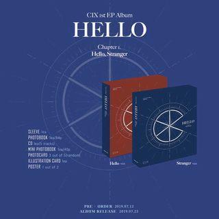 [PO] CIX - Hello (Chapter 1. Hello, Stranger)