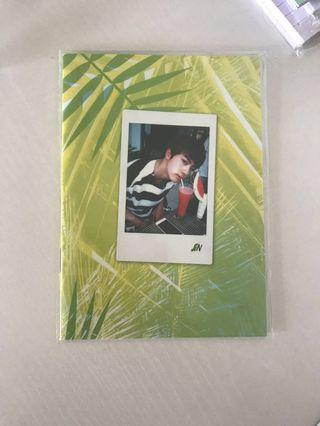 BTS JIN SELFIE BOOK 2017 SUMMER PACKAGE OFFICIAL