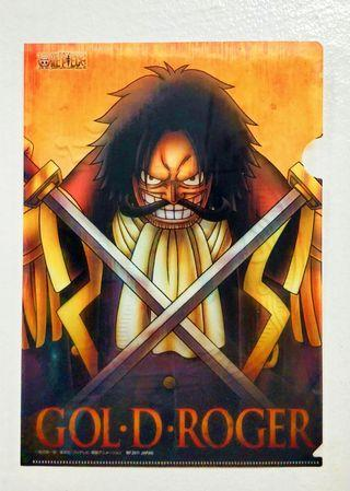 One Piece Gold Roger A4 size folder