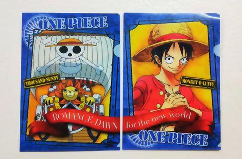 One Piece A4 Folder Collections Limited Edition