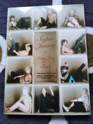 Super Junior The 6th Album: Sexy, Free and Single