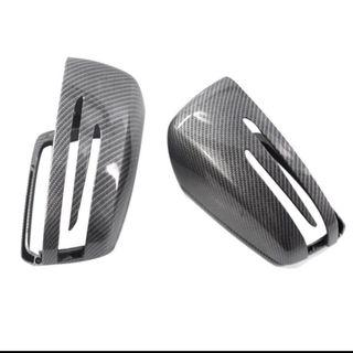 Mercedes Benz Carbon Fiber Side Mirror Cover