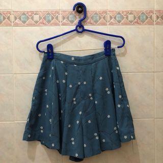 FASHMOB Blue Skirt