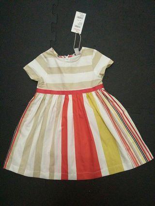 Stripe Poney Dress