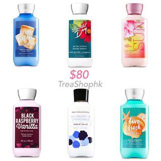 現貨 bath and body works body lotion