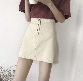 [SALE]杏色A字裙