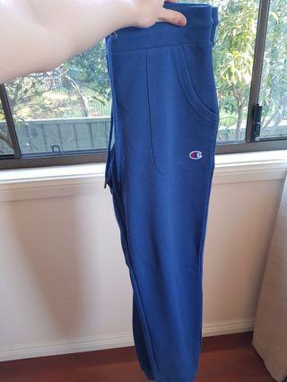 Brand New Blue Champion Skinny Leg Sweatpants