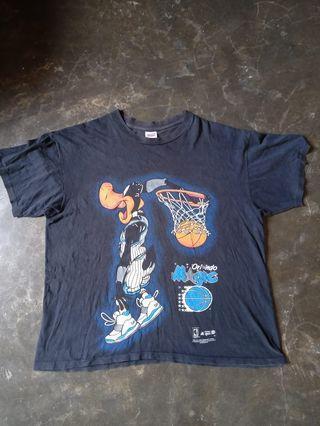 Vintage Orlando Magic daffy duck 1994