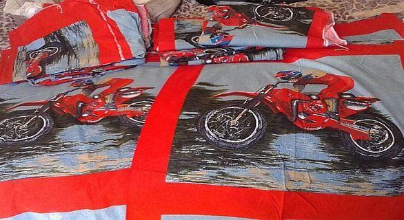 Material - Motorbike Pattern