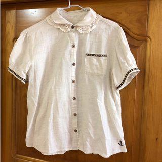 🚚 日系棉麻森林襯衫